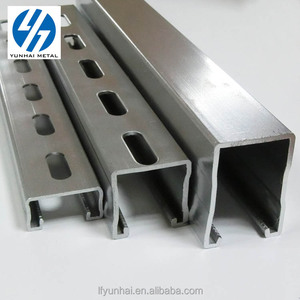 Direct Factory Provide Perforated galvanized c channel unistrut c channel price