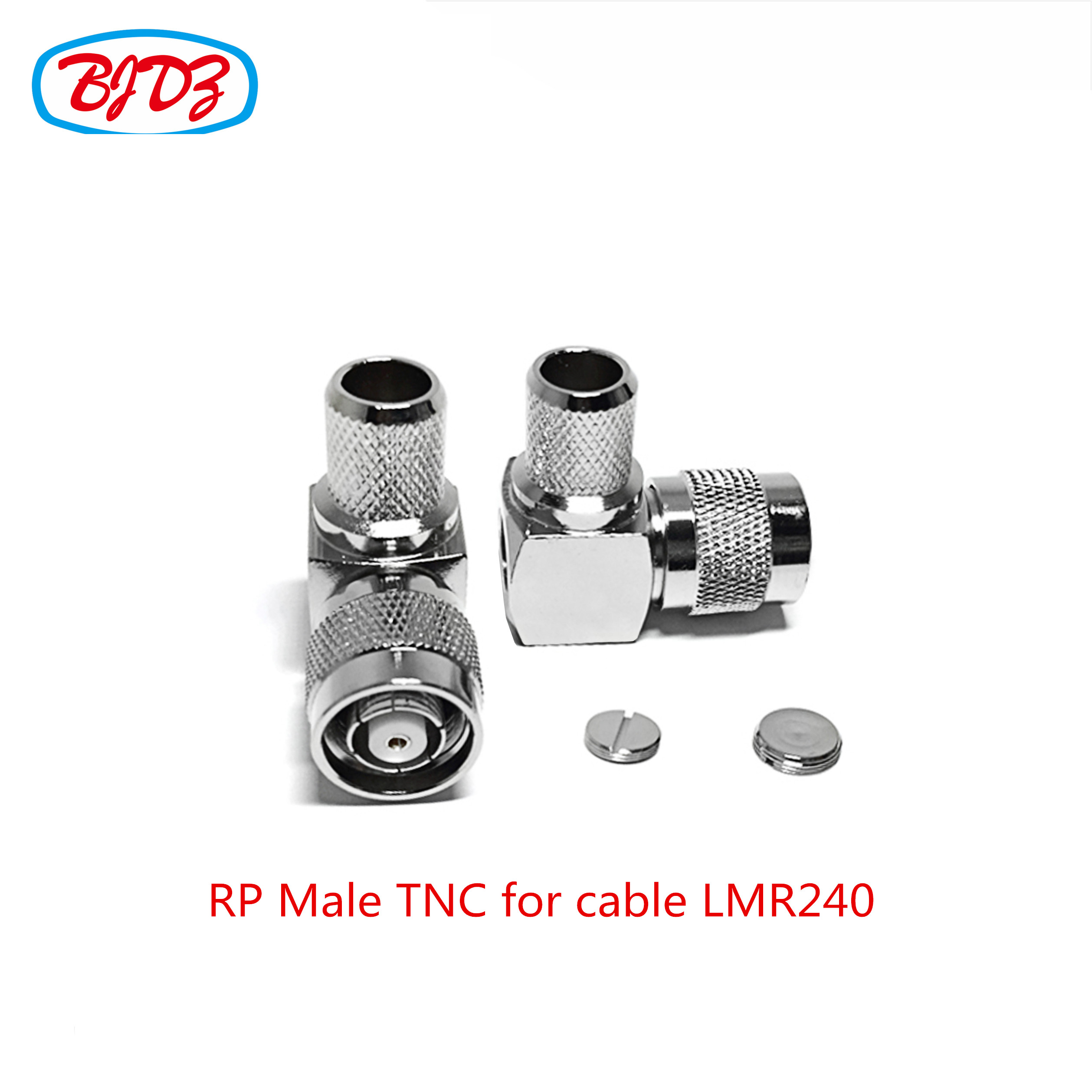 Waterproof rf connector TNC female bulkhead connector for cable LMR100 RG174 RG136 RG188 G178