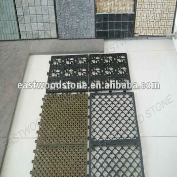 Exceptional Interlocking Plastic Base For Deck U0026 Patio Tiles