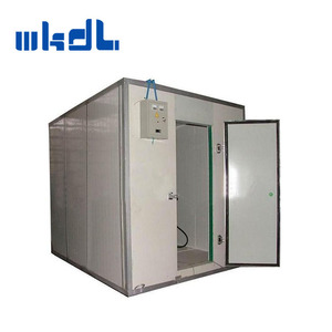building design supermarket pu panel compressor cooling system cold room for fish