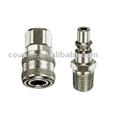 Hot Sale Pneumatic Tools Pneumatic ARO Steel Air Hose Quick Release Connector Plug Pneumatic Connector Coupling