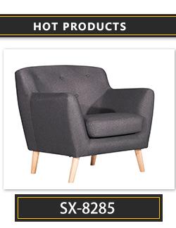 Modern Leather Sofa Furniture Arm Chair