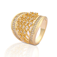 Good Quality Turkish Jewelry pure gold ring designs for girls and woman