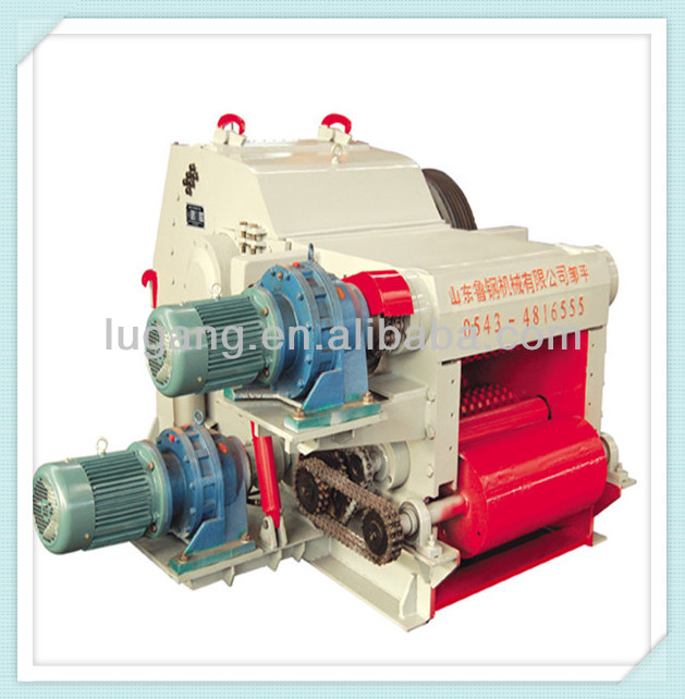 8-15t/h forest drum 13hp wood chipper shredder