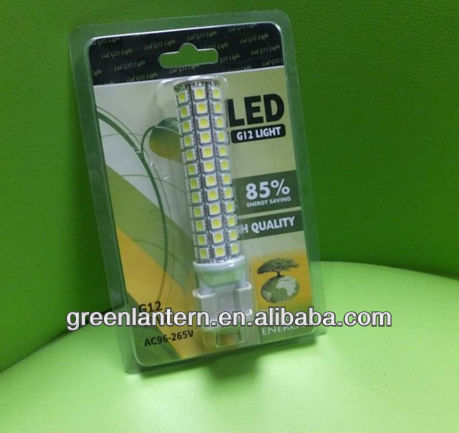 Halogen Lamp Replacement G12 LED Light 10W DC12V,AC96-265V,CE&ROHS