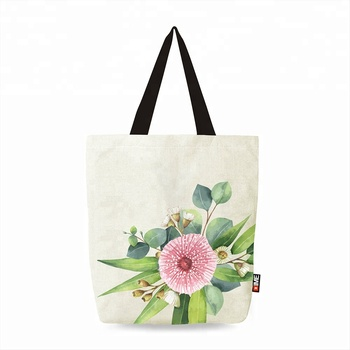 Ginzeal 2018 Hot Selling Custom 12oz Canvas Tote Cotton Bag