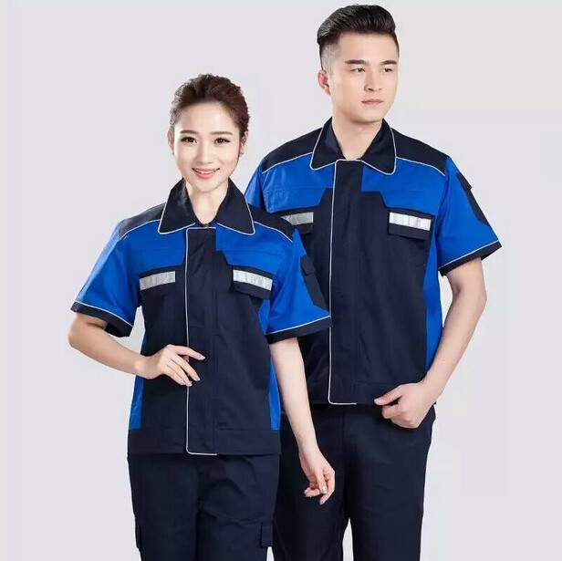 Custom New Plain Factory Cheap Coverall Work Uniforms For