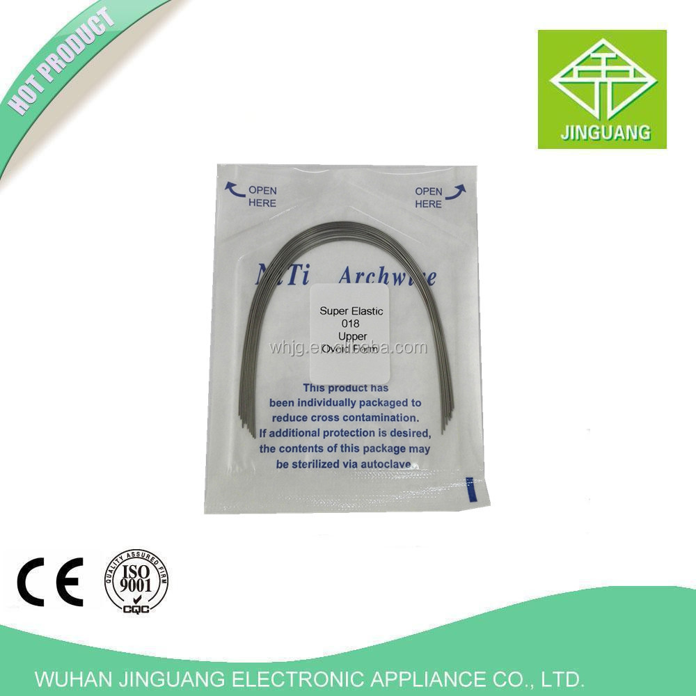 High quality dental NiTi Orthodontics ArchWire Dental Stainless Steel Arch wires For Braces