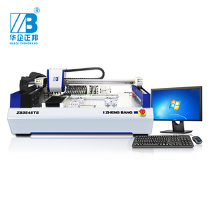 SMT Desktop LED Lamp Production Line 4 Heads With Vision LED Pick And Place Machine