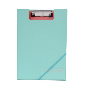 Carton cute document folder with string paper file holder for school or work