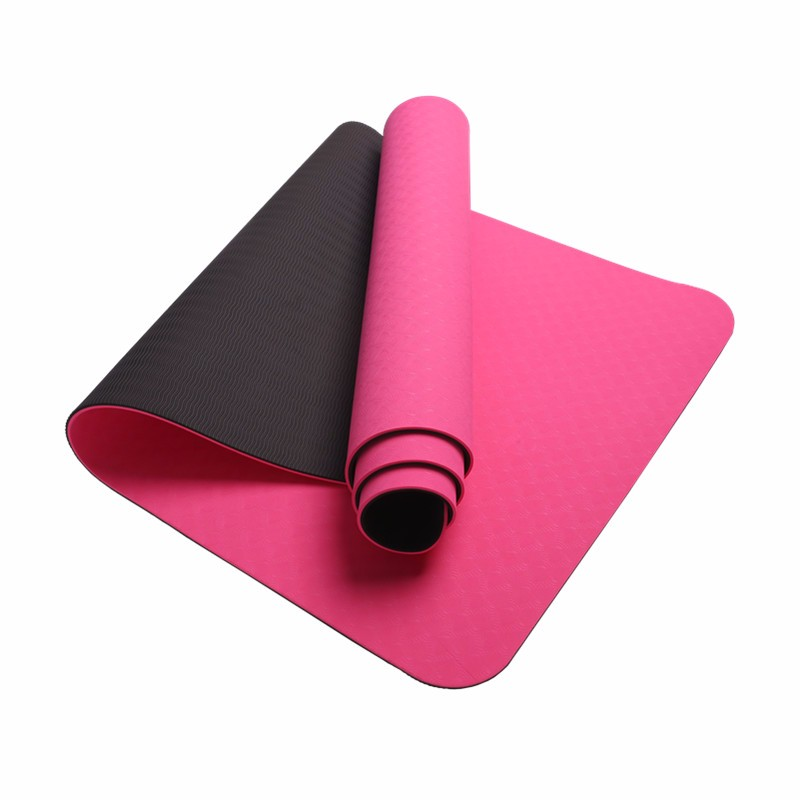 Wholesale washable 8mm yoga mat manufacturer
