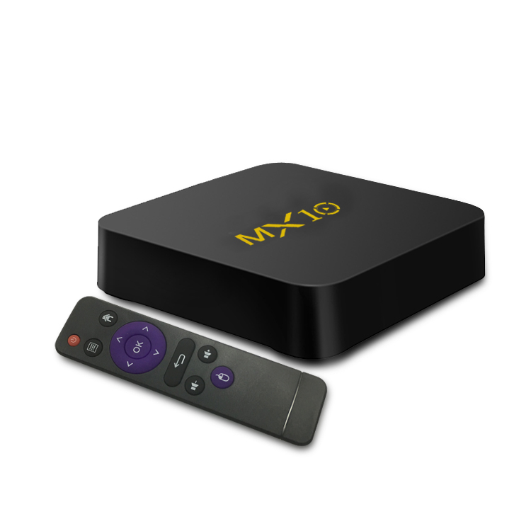 La maggior parte dei Popolari Android TV Box MX10 Quad-core 4 GB di RAM 32/64 GB di ROM Astuto di Android TV box