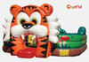 Big Tiger Amusement Park Inflatable Fun City Obstacle Playground Games