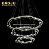home decoration modern pendant lights/ Italian designer contemporary art chandeliers