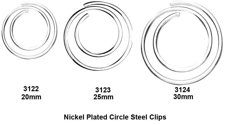 circular steel paper clips buy promotion gift circular steel paper