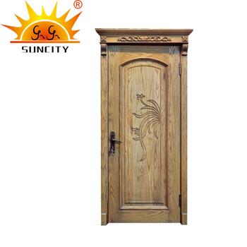 Hand Carved House Door Kerala Door Designs Solid Teak Wood Door Price