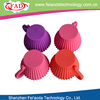 Colorful eco-friendly silicone cupcake wholesale wedding cupcake decorations supplier