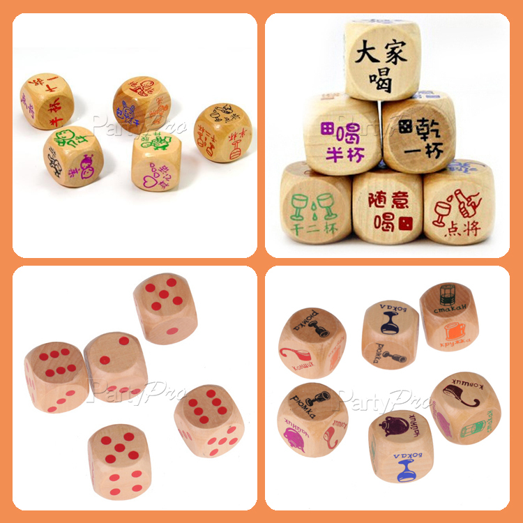 2015 New Product Best Quality Letter Dice Beads Bulk Dice ...