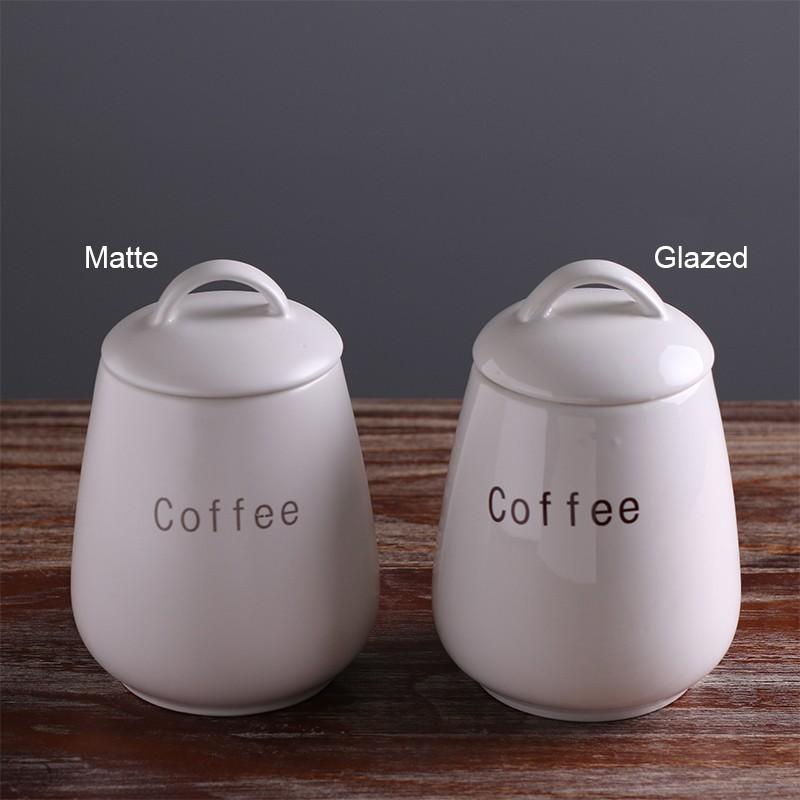 wholesale ceramic coffee tea sugar kitchen canister sets