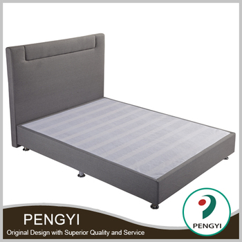 Fabric Lift-up Double Bed Frame /dark Grey Colour Bedframe Py-9904c ...