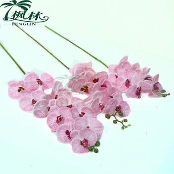 Nyata Sentuh 11 Pcs Kepala Anggrek Bunga Pernikahan Dekorasi Bunga Anggrek  Buatan Pengaturan. Lihat gambar lebih besar 66b1b64540