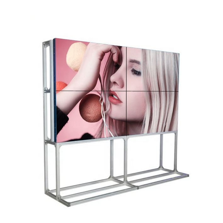 Ad alta definizione 47 pollici lcd video wall 4.7 millimetri super stretta lunetta trasmissione in diretta led o lcd video xxx display con processore