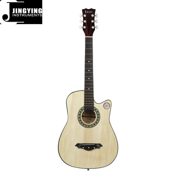 Wholesale 38 Inch 10 Colors Optional Beginners Practice Folk Guitar