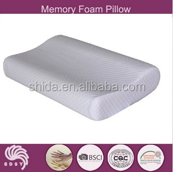 Safe and Confortable Memory Foam Contour Cutting Pillow
