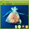 high quality toiletry custom printed organza bag drawstring cosmetic bag