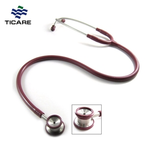Hot Sell Stainless Steel Custom Double Head Price Cheap Stethoscope For Kid