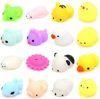 ISO 2018 custom make vinyl toys licensed squishy animals pack baby baby toys