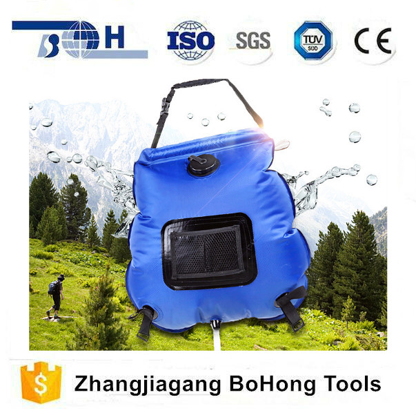 New type selling well outdoor solar hot water bag portable wash shower bag