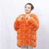 Factory Direct Sale Short Coat Real Fox Fur Jackets For Women