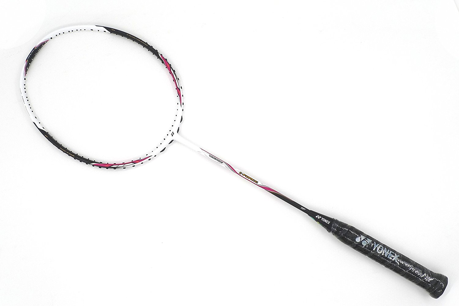 High Quality ARC SABER 11 Badminton Racket,free prestrung /& HQ grip red//white