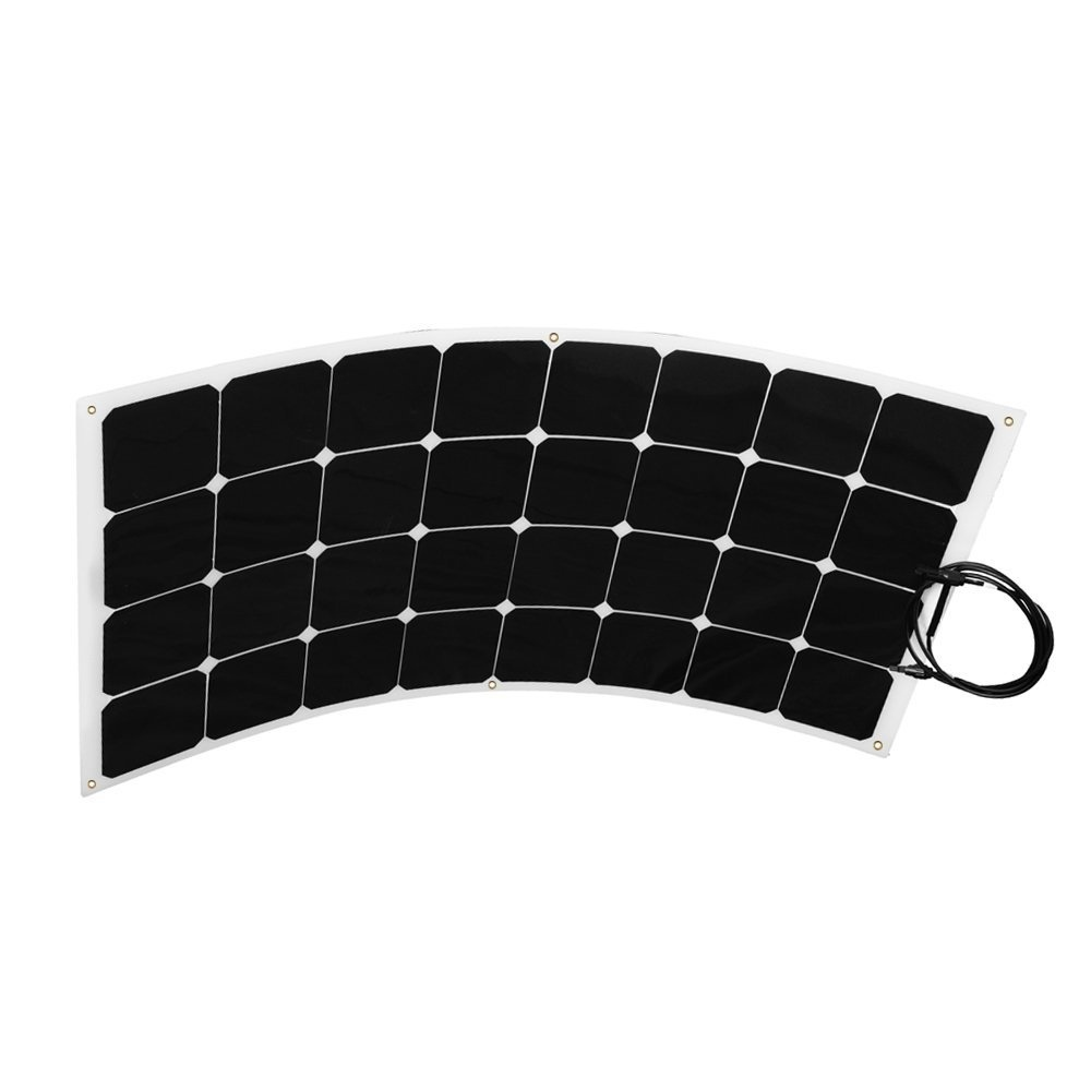 100W Semi Flexible Solar Panel for RV Kit with sunpower solar cell