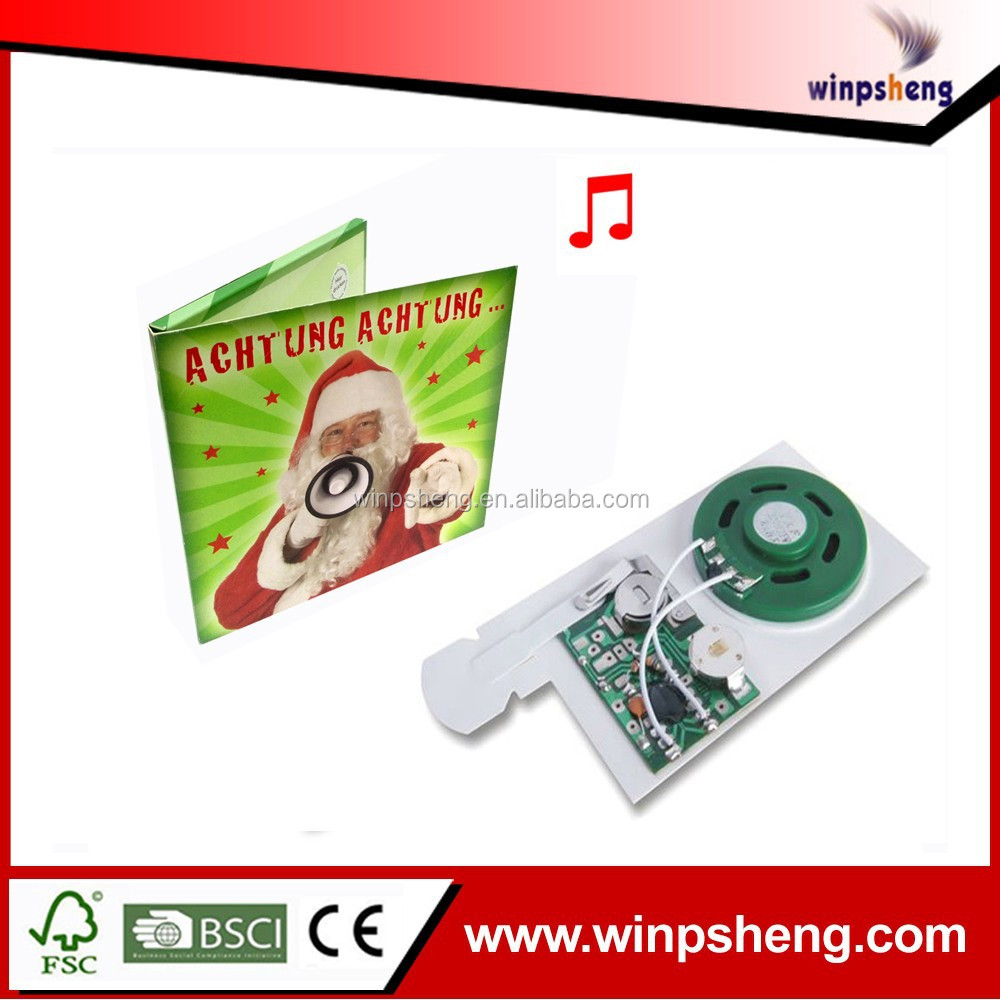 musical buttons for cards /musical sound chip for card