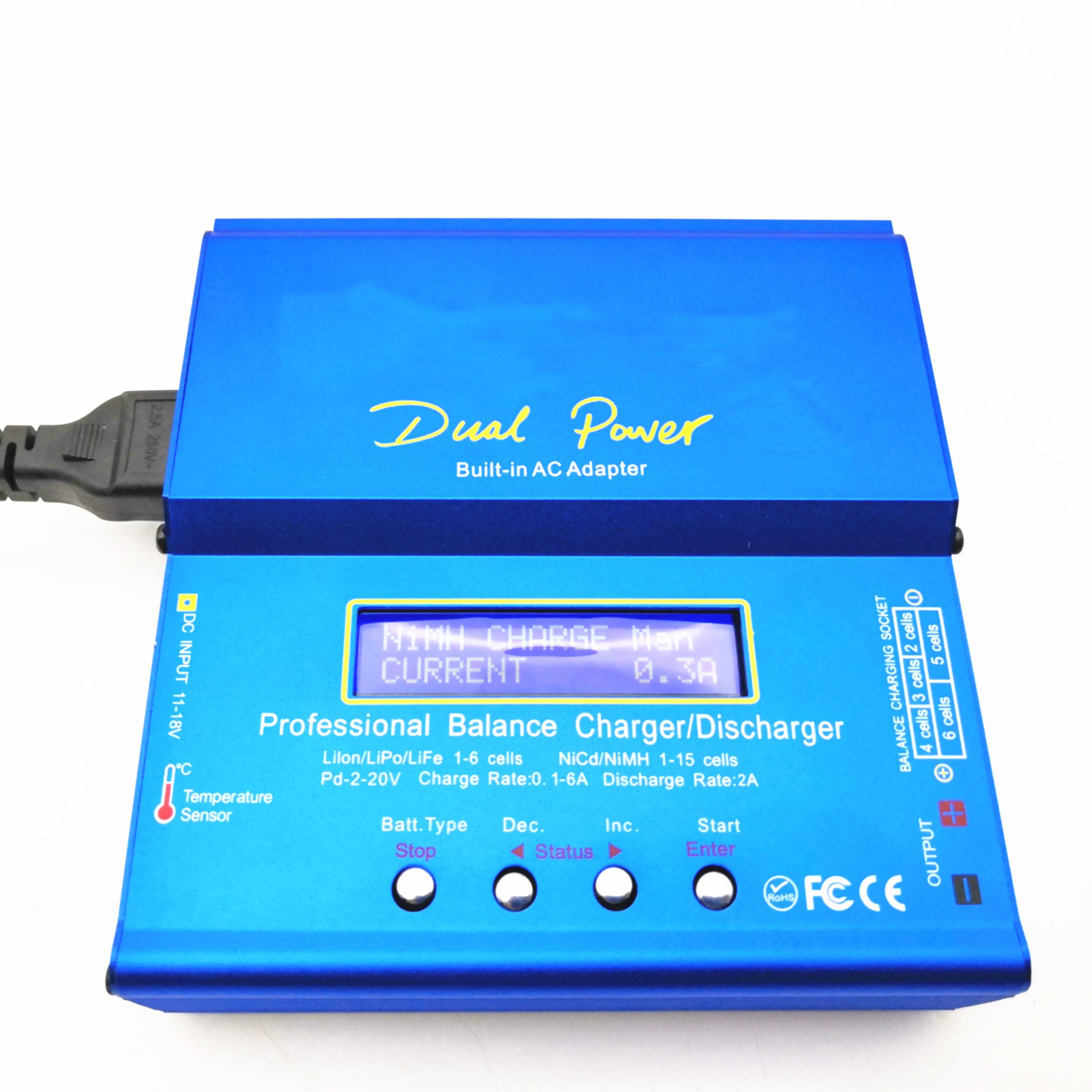 Professionelle Ausgewogene Ladegerät Entlader für hybrid Ni-Mh Li-Ion batterie Individuelle Zelle Modul niedrigen spannung, der up ladegerät