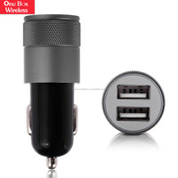 China Factory Supplier 4.8A Universal Mini Micro Promotional Portable Dual USB Car Charger