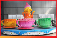New Theme Park Rides Electic Rotary Tea Cup Rides For Family ...