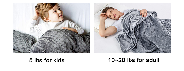 glass beads weighted blanket