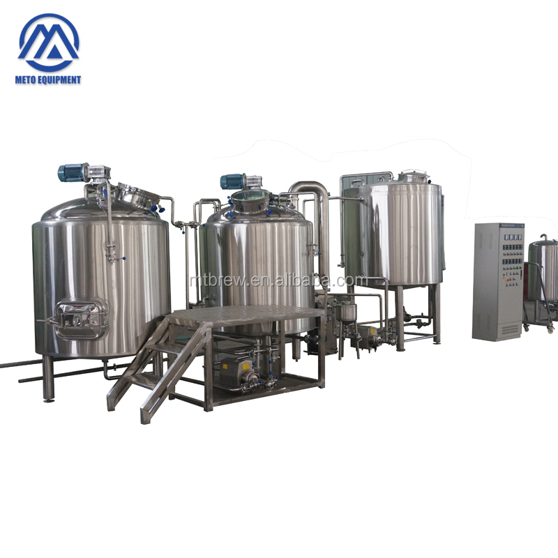 Automatic beer bottle filling machine commercial beer brewery brewing equipment with comical beer fermenters