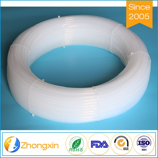 semi-transparent FDA approved teflon lined tube ptfe lined tubing with wide temperature range