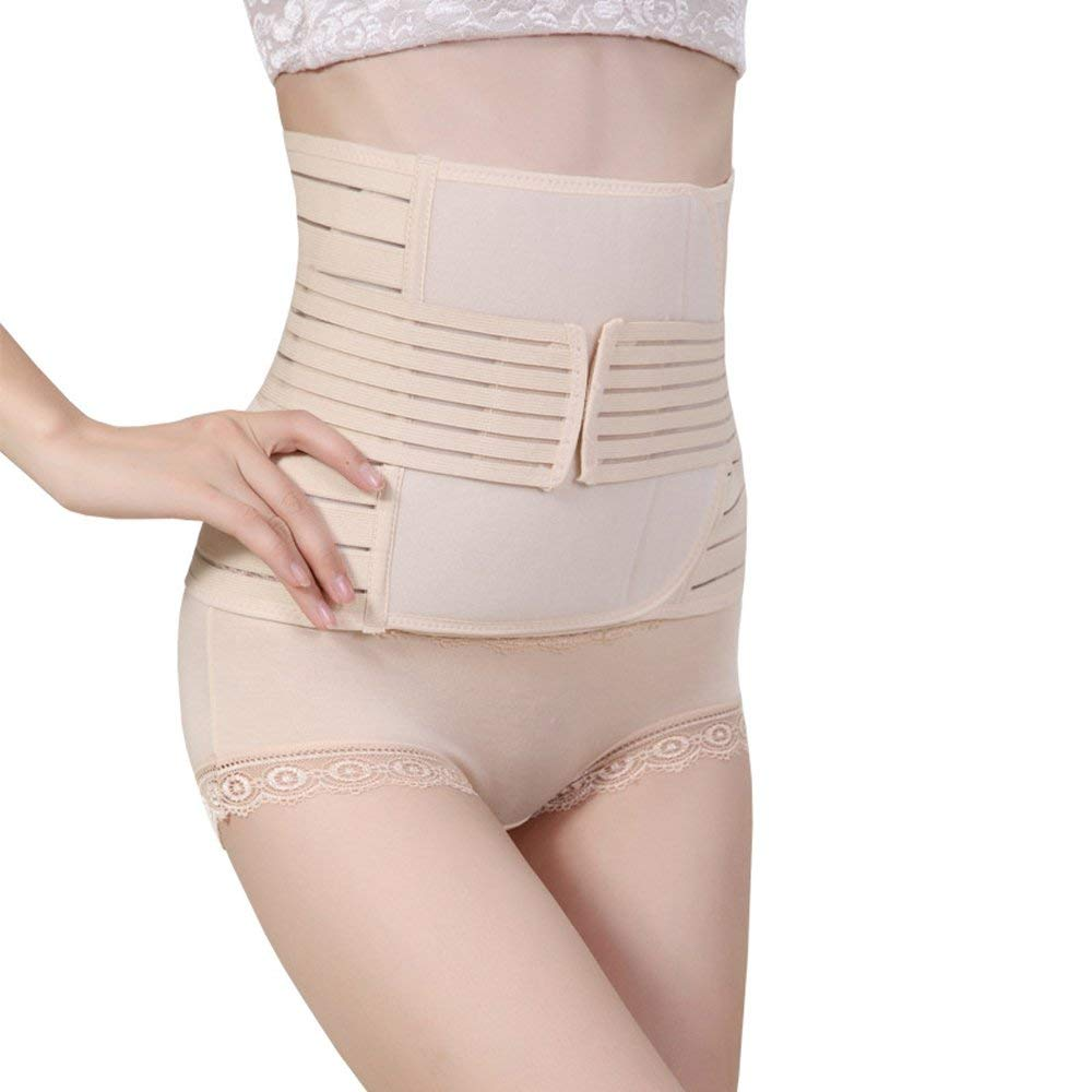 ef2db2daac5 Get Quotations · ZJIE Women s Abdominal Binder Support Corset  Post-Operative