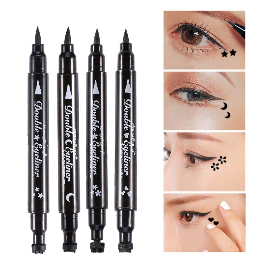 Back To Search Resultsbeauty & Health 1 Pcs Charming Cat Eye Winged Eyeliner Sexy Eye Cosmetic Seal Stamp Wing Double Head Waterproof Eyeliner Pen Tool To Assure Years Of Trouble-Free Service