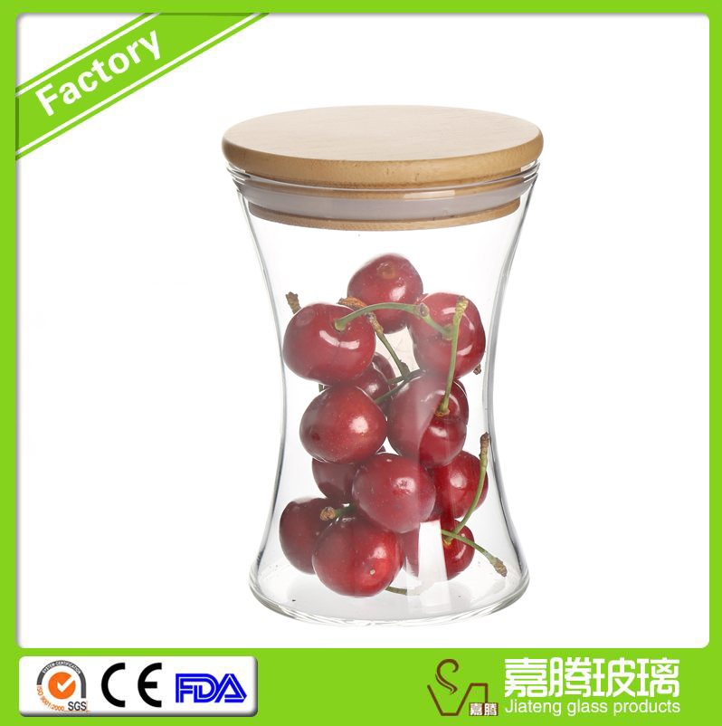 Best price of airless glass storage bamboo jar Sold on Alibaba