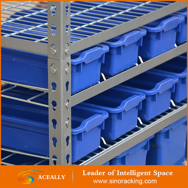 Warehouse used storage light duty rolling tool storage shelving