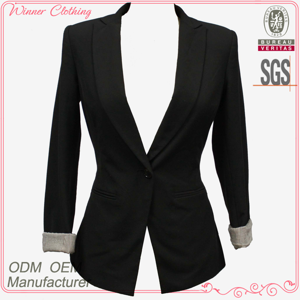 Ladies Office Wear Blazer Ladies Office Wear Blazer Suppliers and