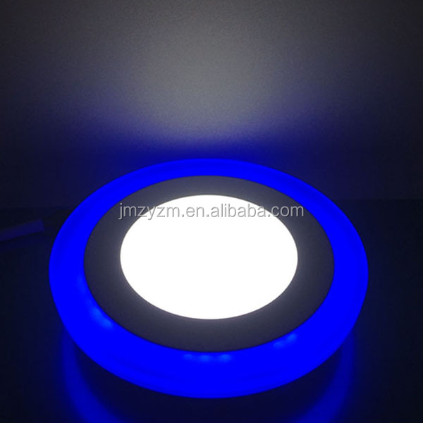 6w+3w Surface Mounted Double Color Led Panel Lights For Clothing ...