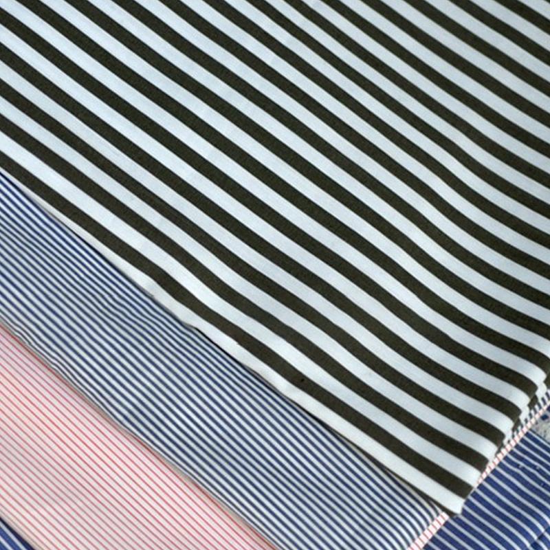 Streifen baumwolle stoff für shirts