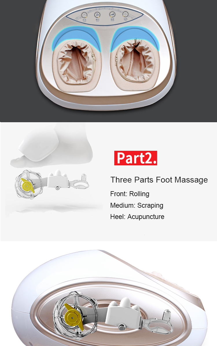 CE RoHs foot spa massager foot Rolling Kneading Massage machine